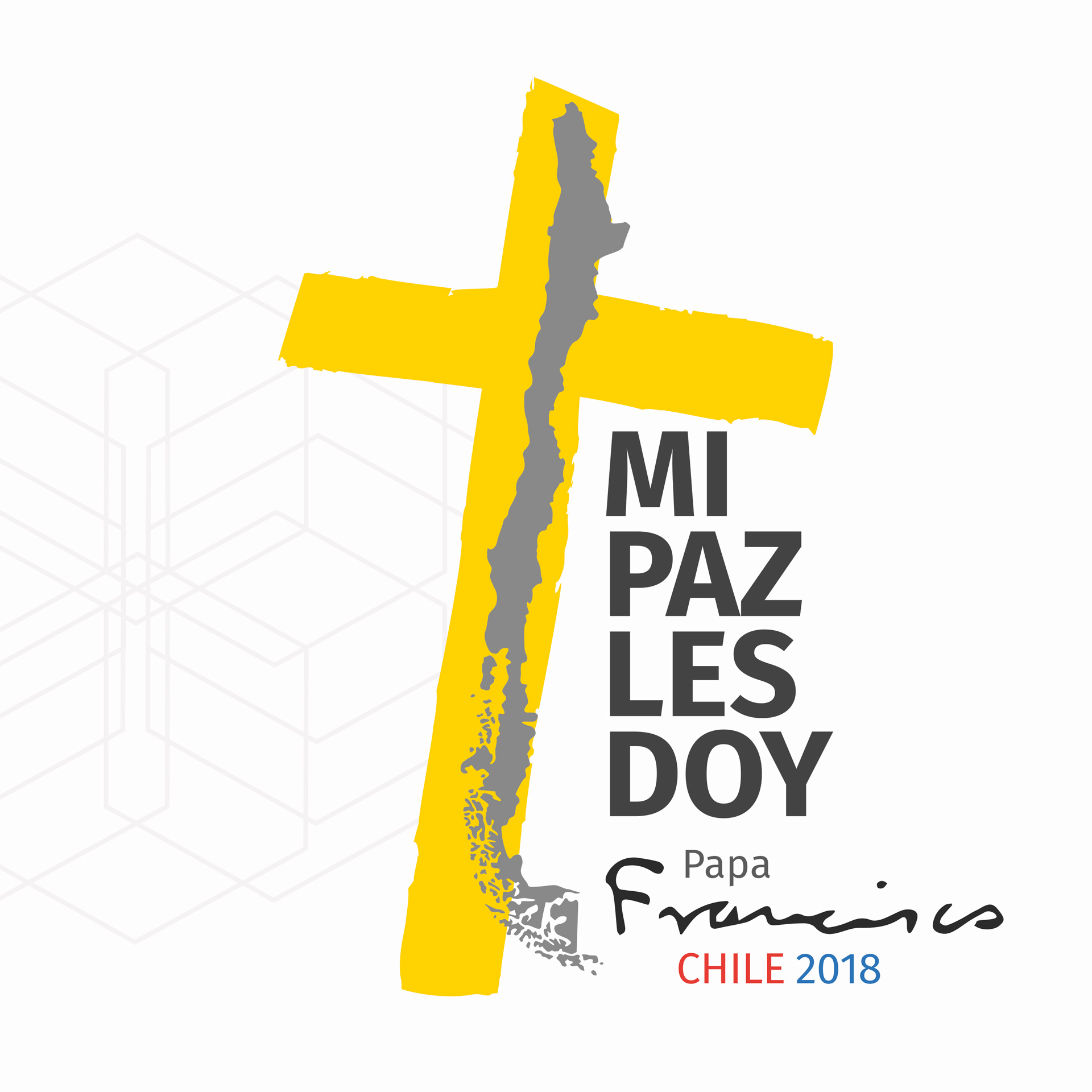 Imagen corporativa visita Papa Francisco en Chile